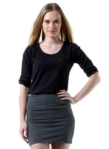 Loox Loox Siyah T-Shirt Siyah
